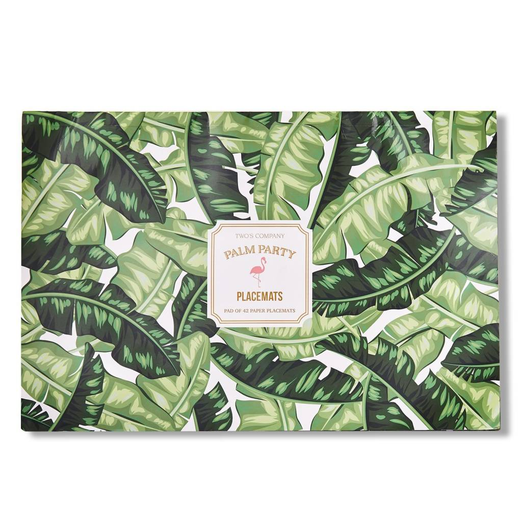 Palm Leaf Paper Placemats