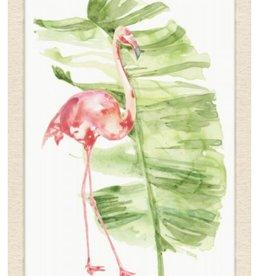 Flamingo and Palm 1