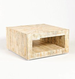 Driftwood Coffee Table-Square