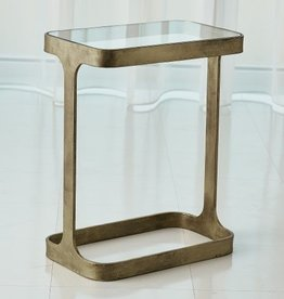 Saddle Table-Antique Gold