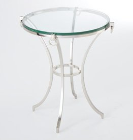 Ring Gueridon Table-Iron