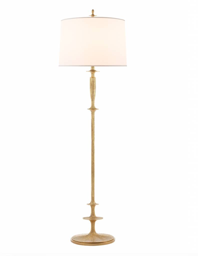 Lotus Floor Lamp - Gild