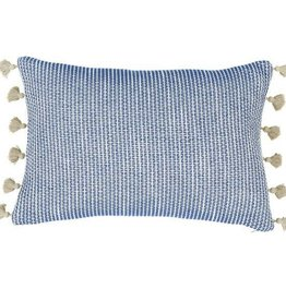 Ziggy Navy Lumbar Pillow
