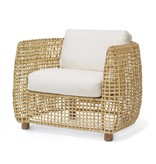 Vero Lounge Chair in Linen Bisque