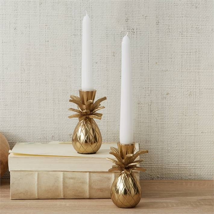 Pineapple Taper Candle Holder