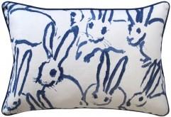Hutch Navy Pillow