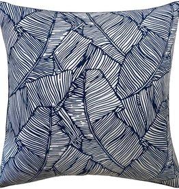 Les Palmiers Navy Pillow