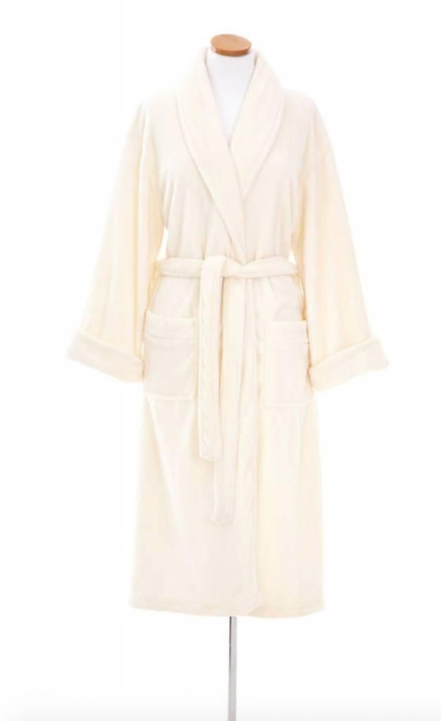 Sheepy Fleece Robe-Ivory