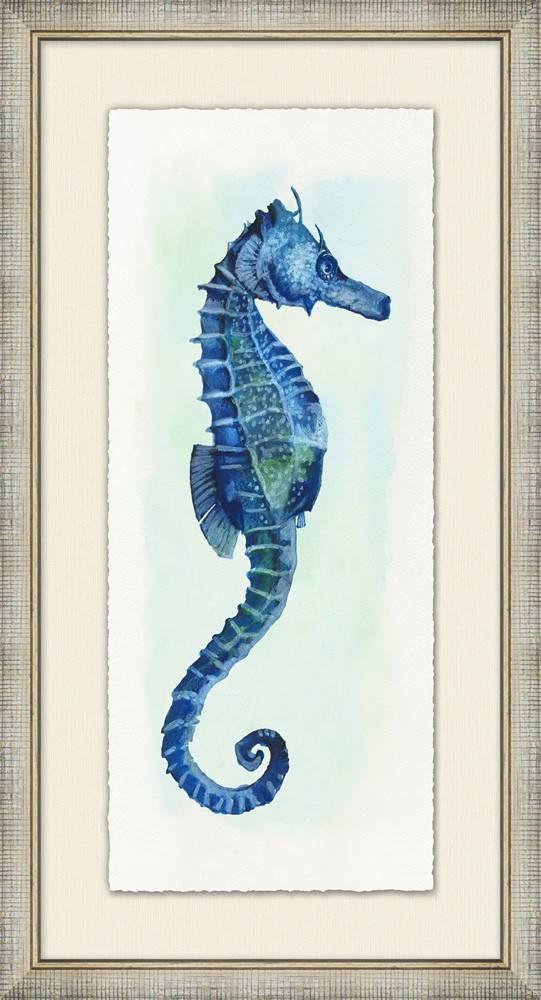 Small Watercolor Seahorse 1