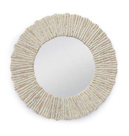 Slate Mirror Round (Natural)