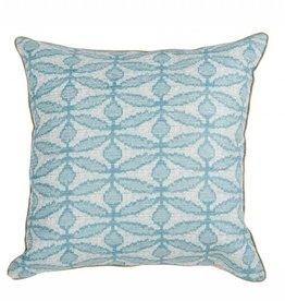 Dragon Flower Lagoon Pillow