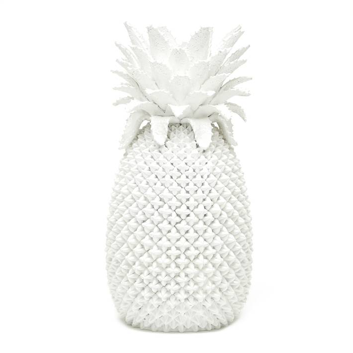 White Pineapple Vase