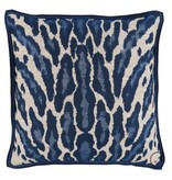 Kenya Indigo Pillow 22""