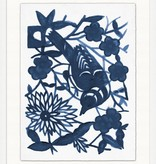 "Navy Sparrows 1  30"" x 38""h"