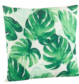 Printed Leaf Pillow
