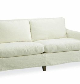 Slipcovered Apartment Sofa in Cody White, 1296-11C