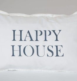 Happy House Lumbar Pillow