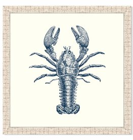 Lobster in Blue