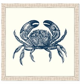 Crab in Blue