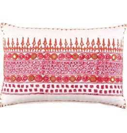 Primrose Decorative Pink Pillow