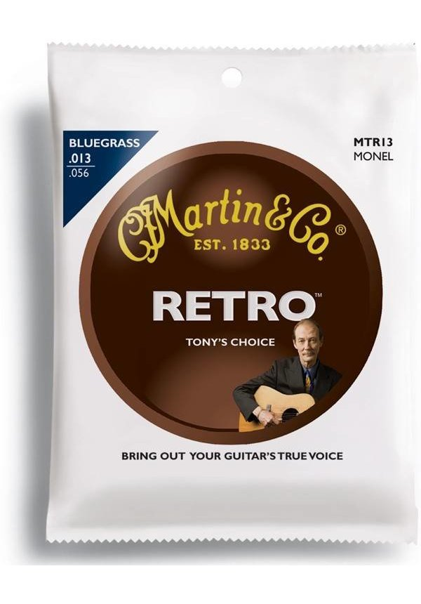 Martin Retro Bluegrass Monel Med MTR13