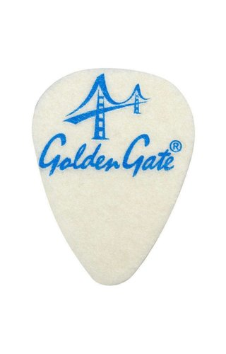 Golden Gate Felt Pick