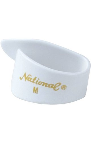 Generic NATIONAL THUMB PICK WHITE MED