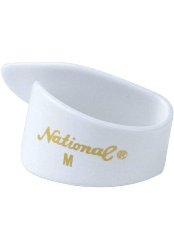 NATIONAL THUMB PICK WHITE MED