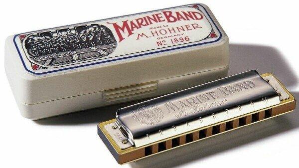 "Hohner Marine Band Harmonica ""A"