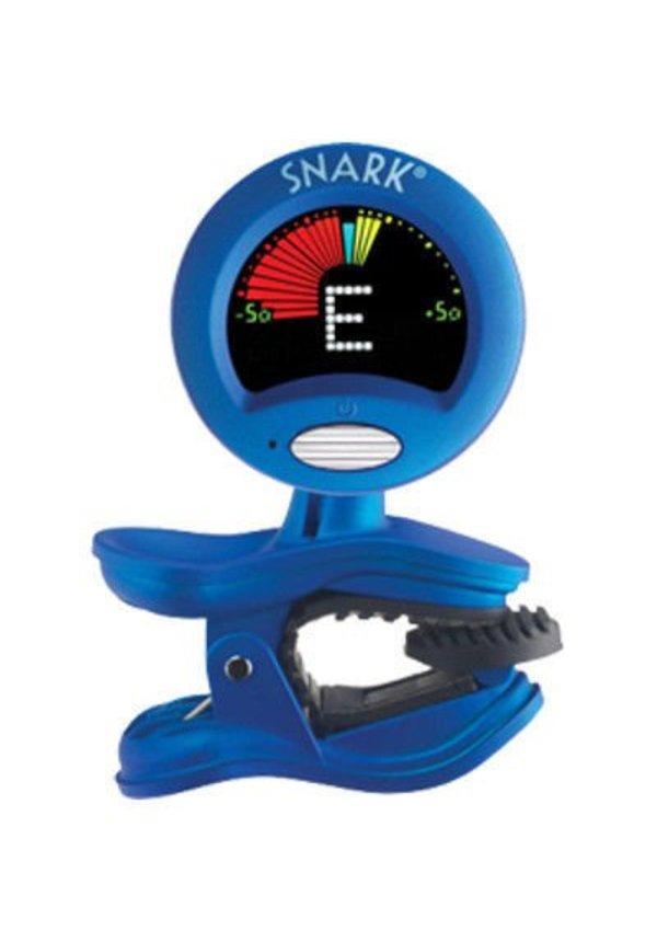 Snark, Tuner, Clipon Chromatc Guitar Blue SN-1X