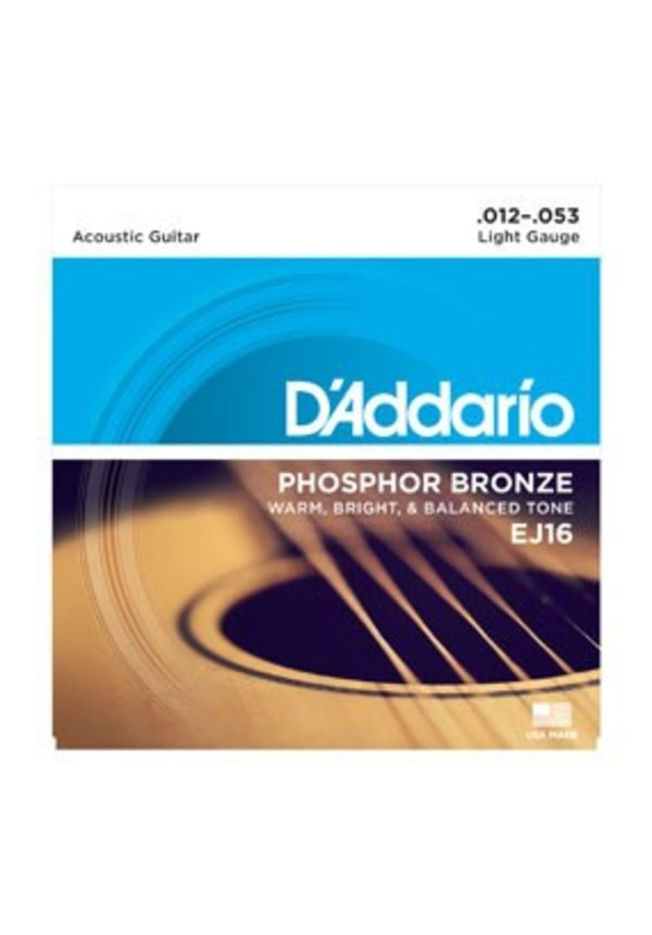 D'Addario EJ16 Light Phosphor Bronze