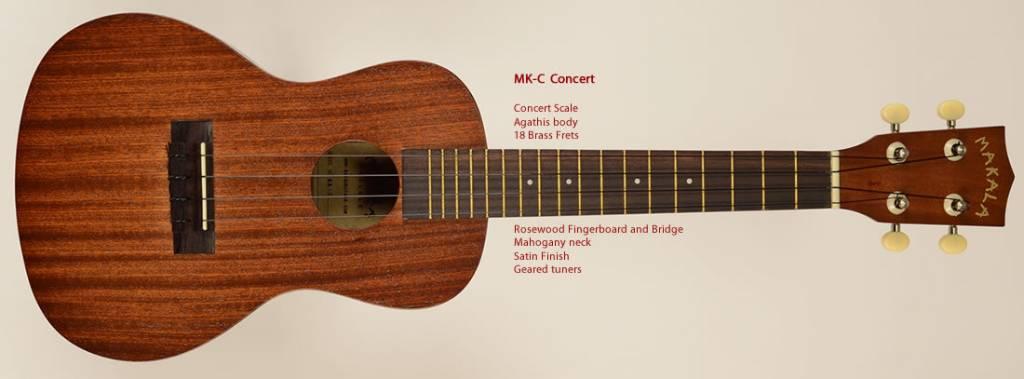 Kala Makala Concert Ukulele MK-C