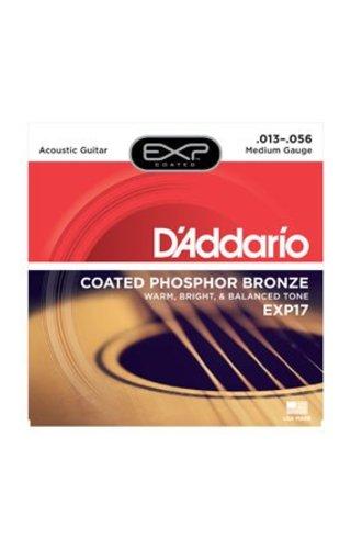DAddario Fretted D'Addario EXP17 Medium Coated Phospher Bronze