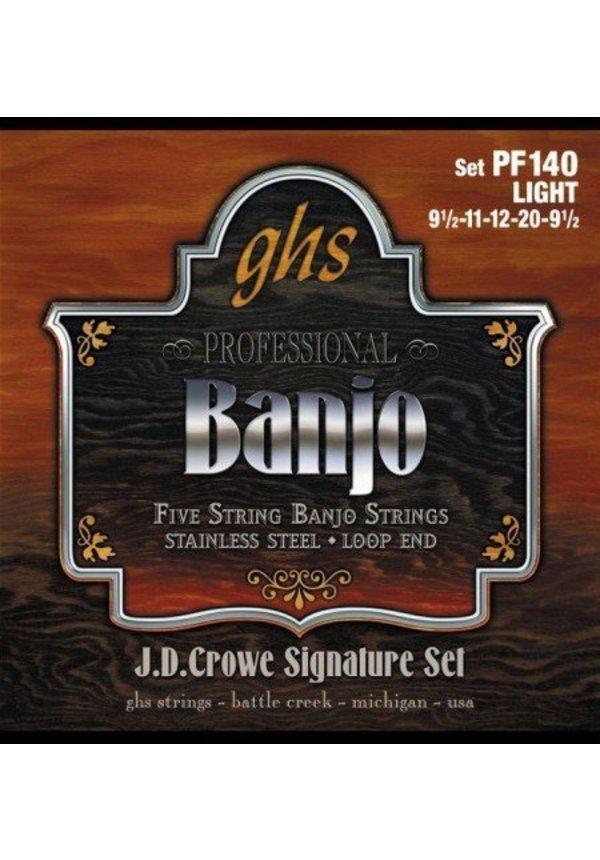 GHS Banjo 5 St Stnlss Lt.0095 .020 PF140
