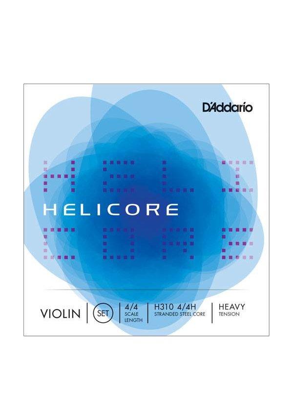 D'Addario Helicore Hvy 4/4 Set H310H VIOLIN