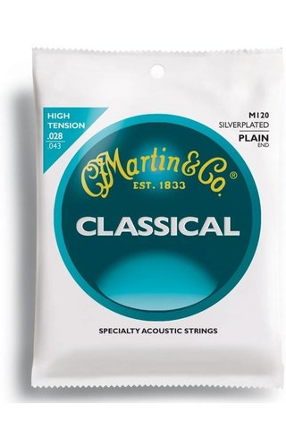 Martin Martin Classic, High Tens, SilPl, Plain End Classical M120