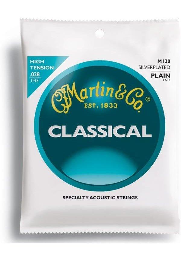 Martin Classic, High Tens, SilPl, Plain End Classical M120