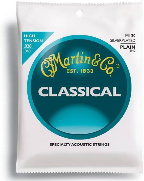 Martin Martin Classic, High Tens, SilPl, Plain End Classical M120