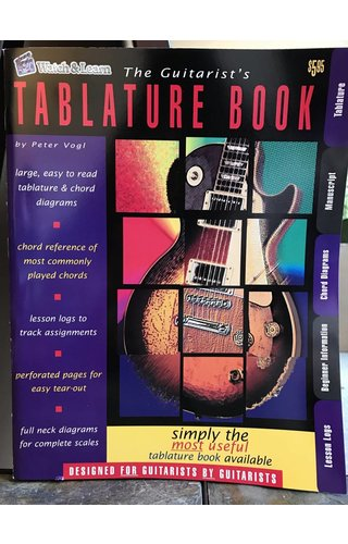 Watch & Learn Watch & Learn The Guitarist's Tablature Book