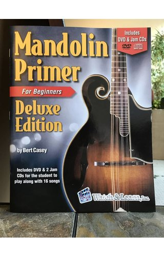 Watch & Learn Watch & Learn Mandolin Primer Deluxe Edition
