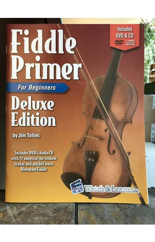 Watch & Learn Fiddle Primer Deluxe Edition