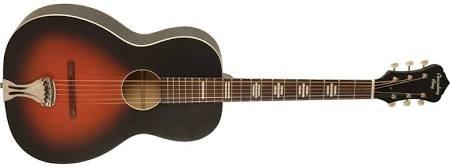Rec King 000 Tailpiece Guitar, Solid Top