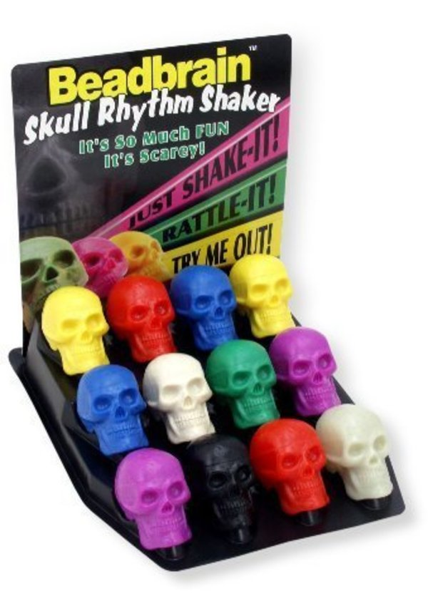 Beadbrain Skull Rhythm Shaker A