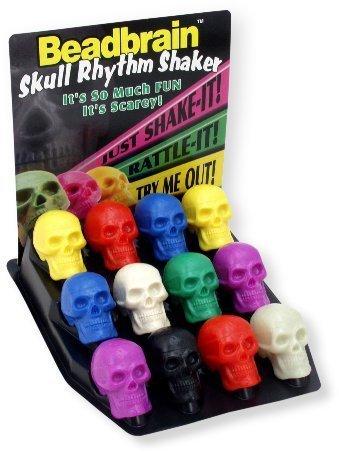 Grover Beadbrain Skull Rhythm Shaker A