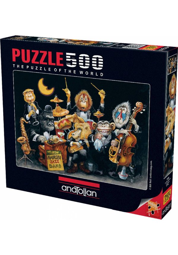 Puzzle - AnaToLian The New Nairobi Jazz Band 500 Pc