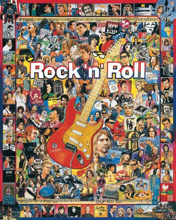 PUZZLE - ROCK N ROLL 1000 Pc