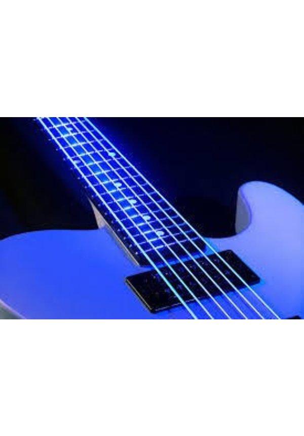 DR Neon Hi Def Blue Bass Strings