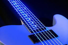 DR Neon Hi Def Blue Bass Strings