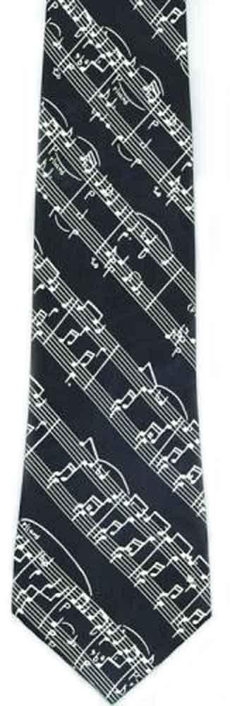 Music Score Tie