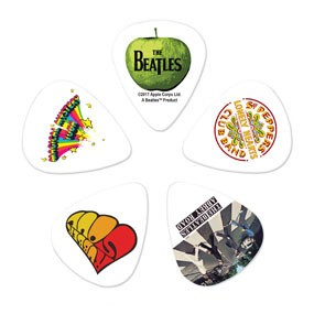 DAddario Planet Waves ASSORTED BEATLES-PICK THIN